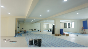 Construction:  Conference lounge 7
