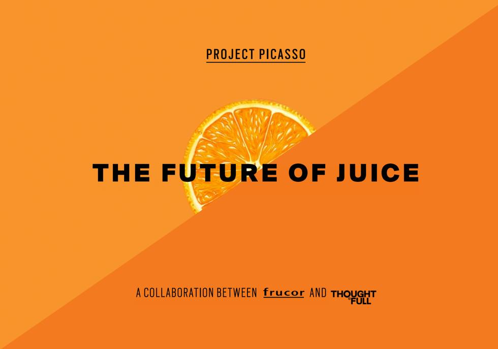 Frucor, The future of Juice