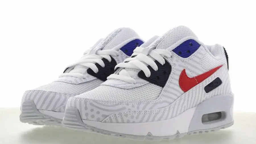 Nike Air Max 90 GS Running Trainers Cz8650