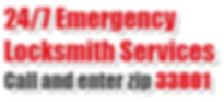 24-7 emergcy locksmith services