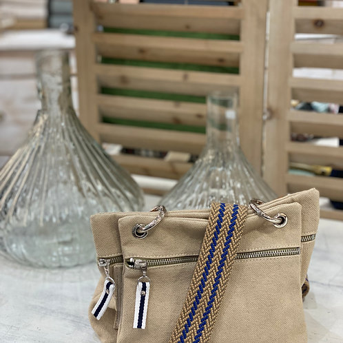 Sac Tussor - Double Pochettes Coton