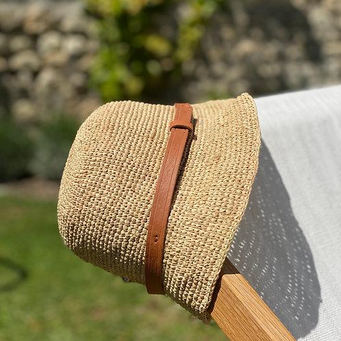 Chapeau en crochet forme vintage