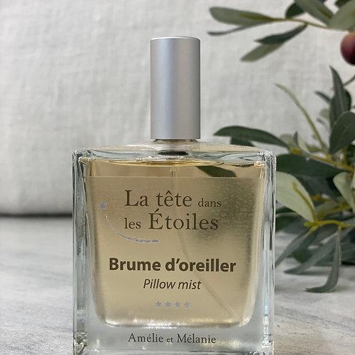 BRUME D'OREILLER LA TETE DANS LES ETOILES - Amélie et Mélanie