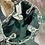 Thumbnail: SAC CABAS Vert - Petite Mendigote