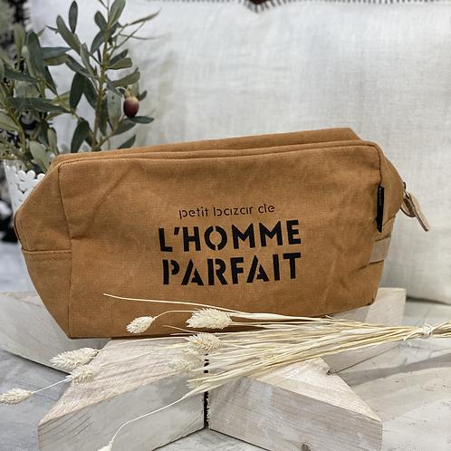 TROUSSE DE TOILETTE L'HOMME PARFAIT Curcuma - Sophie Janière