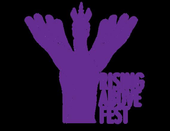 Rising Above Fest Logo Mock Up