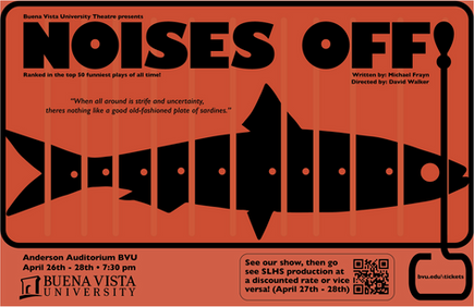 Noises Off! Poster