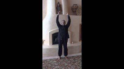 Qigong moving meditation exercises
