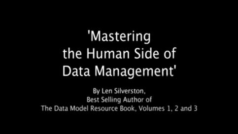 Organizational Behavior: The Human Side of Data Mgmt