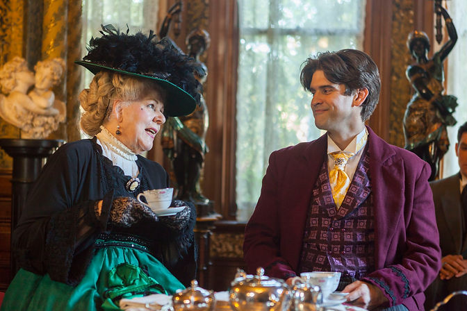 Lady B and Algy - forst scene.jpg