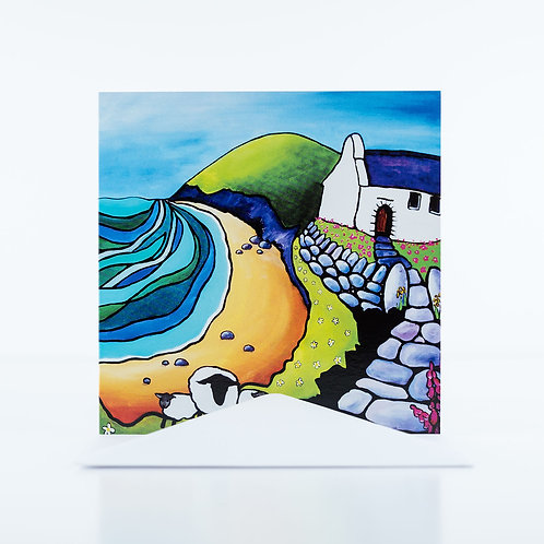 Mwnt Three Sheep Cards - pack of six