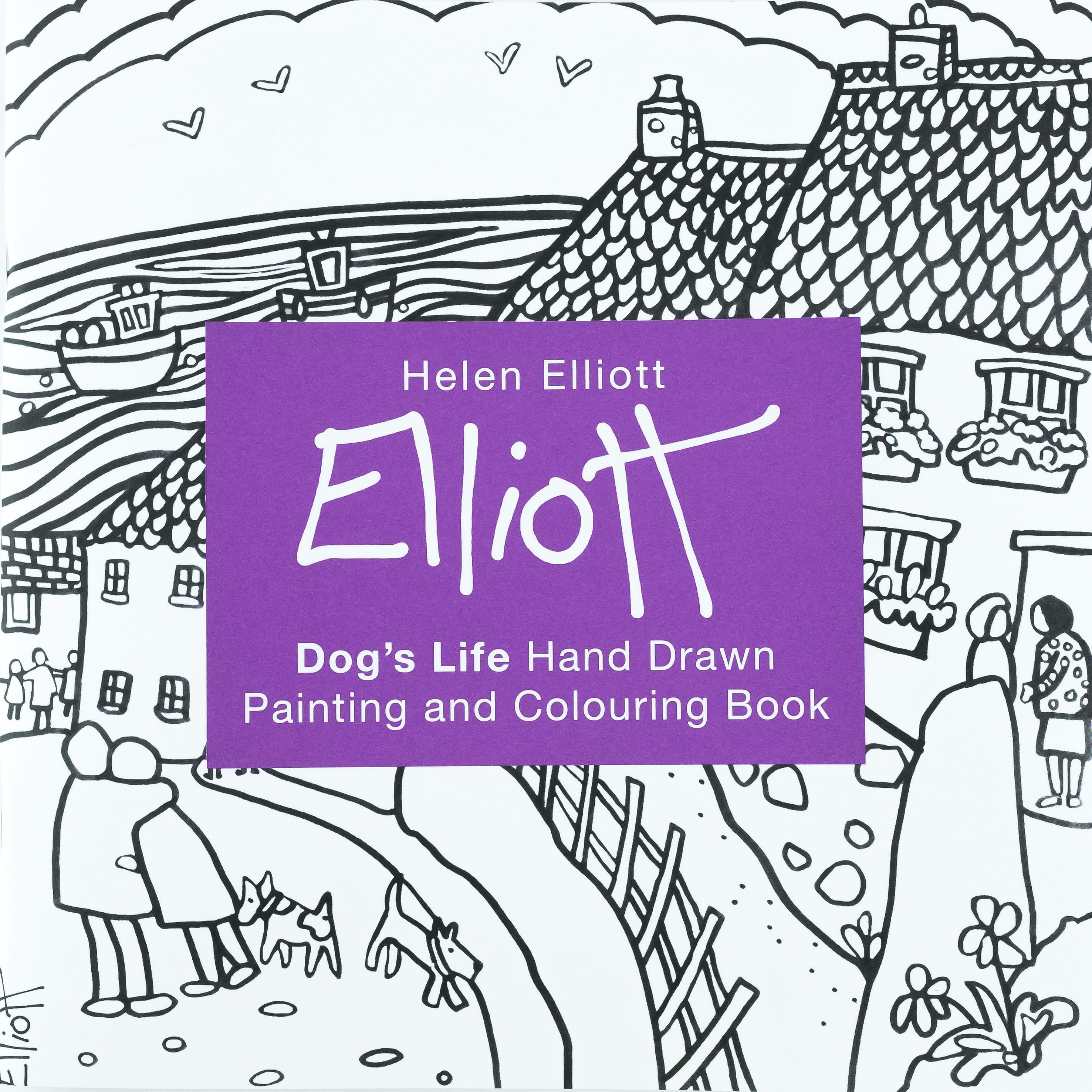 Helen Elliott Art   West Wales   Prints & Gallery   Colouring Book