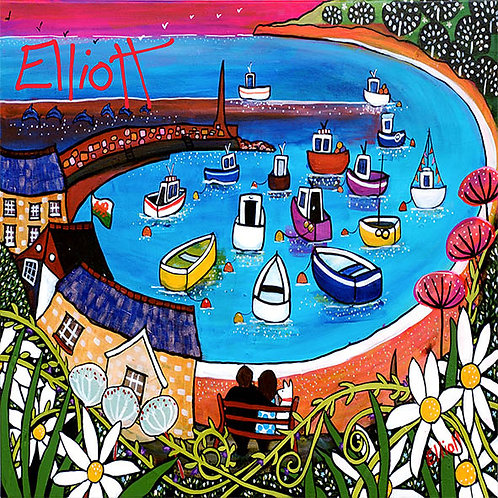 Dylan Thomas' New Quay