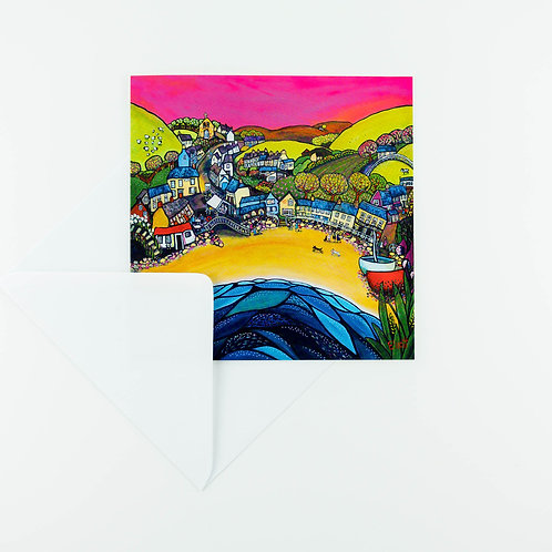 Lovely Llangrannog Cards - pack of six