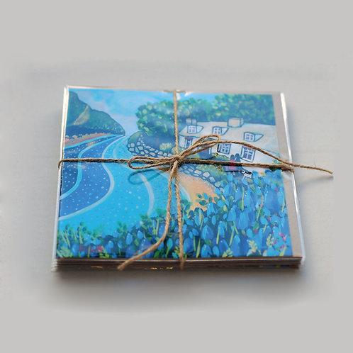 Solva Bluebells Cards - pack of six