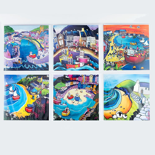 Pack of 6 Cards - Favourite Places