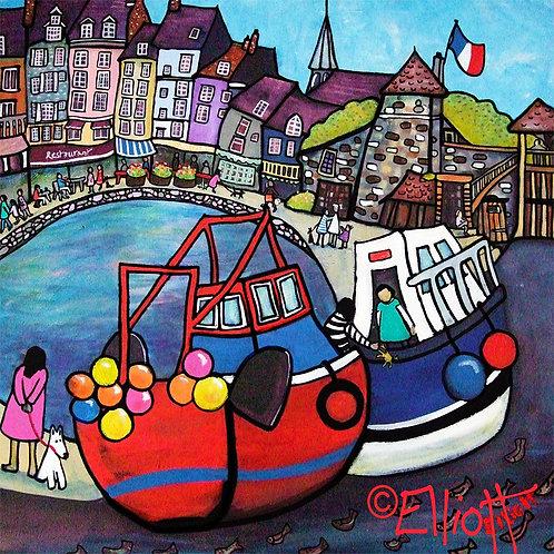 Honfleur Fishing Boats