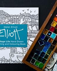 Colouring Books helen elliott village li