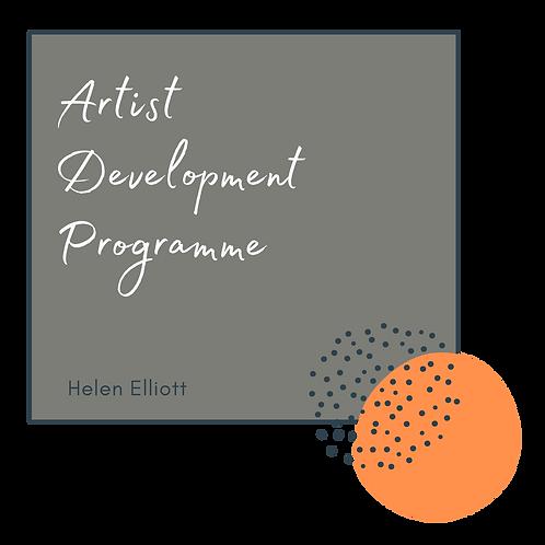 2020 Artist Development Programme