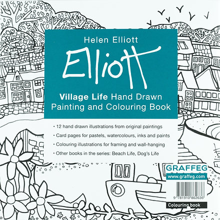 a choice of three themed painting and colouring books featuring 12 hand drawn scenes - Colouring Books