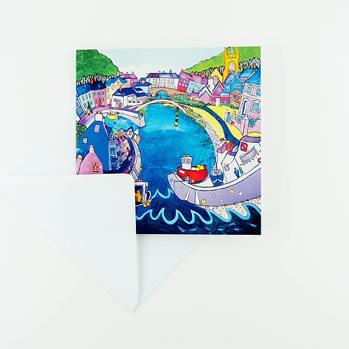 Aberaeron, All the Nice Girls Love a Sailor  Cards - pack of six