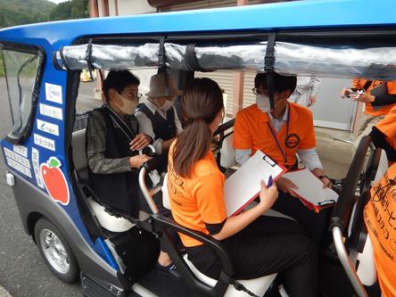 町営バスから自動運転への乗継【9月30日】