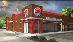 Burger King remodel at Blue Springs Kansas City