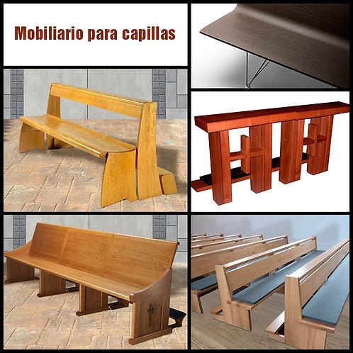 Mobiliario Capillas