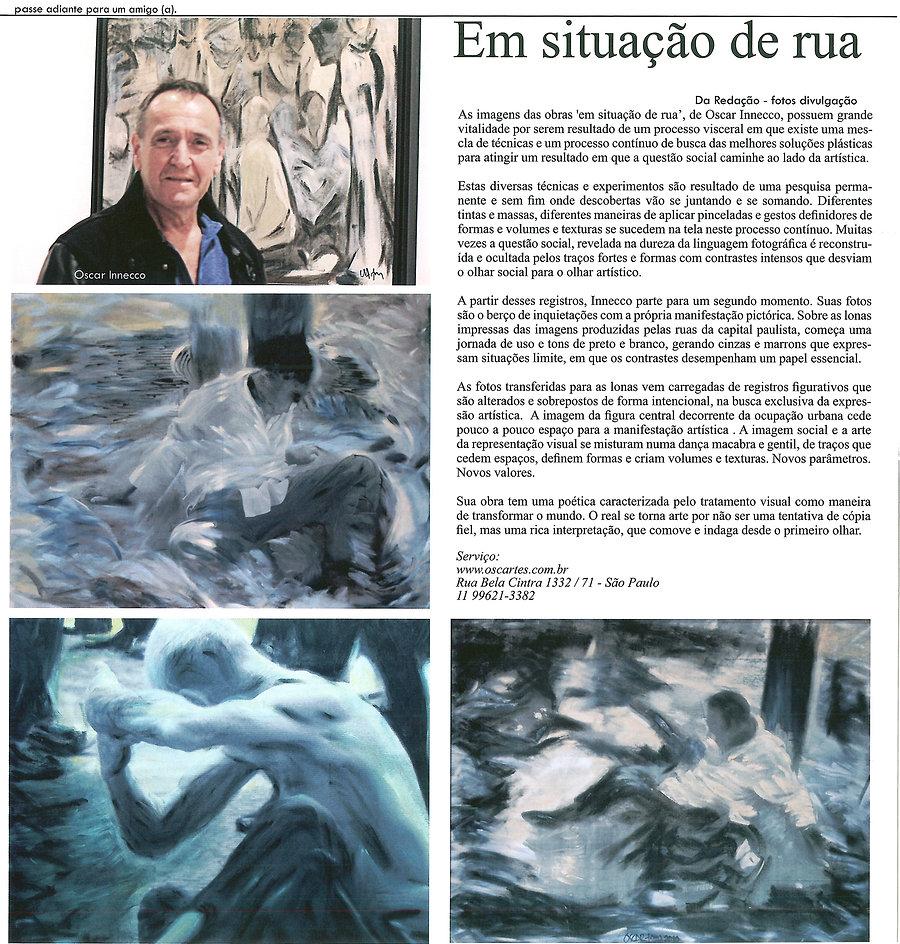 revista Leve e Leia entrevista Oscar Innecco
