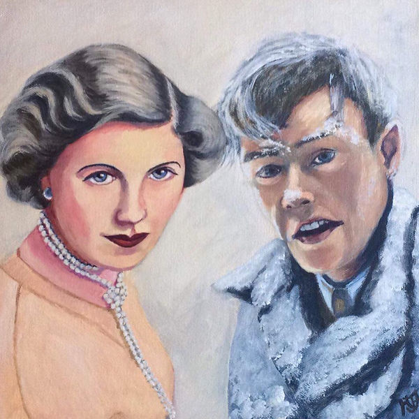 Portrait Commissions by Derbyshire Artist Art by Mandy UK