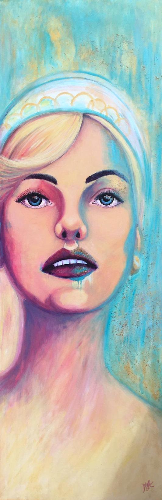 Portrait Paintings by artist Art by Mandy UK