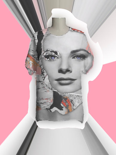 art and fashion, Grace tee, womenswear, menswear, fashion, top, wearable art