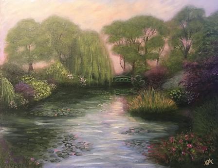 Landscape artworks by Artist Art by Mandy UK
