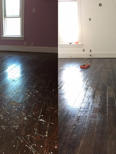 Before and After Original Floors