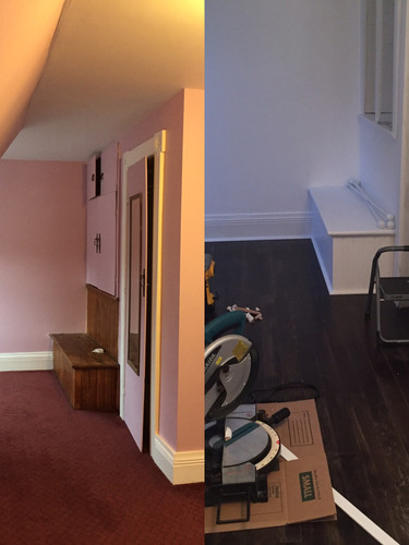 Before and After Walk-in Closet