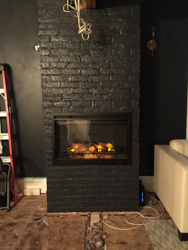 After Image of Custom Fireplace