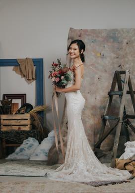 Fidessa - White Gown