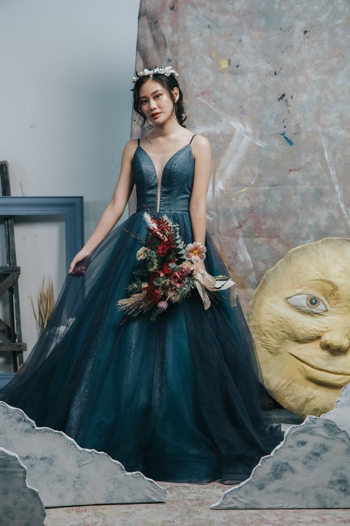 Fidessa - Blue Gown