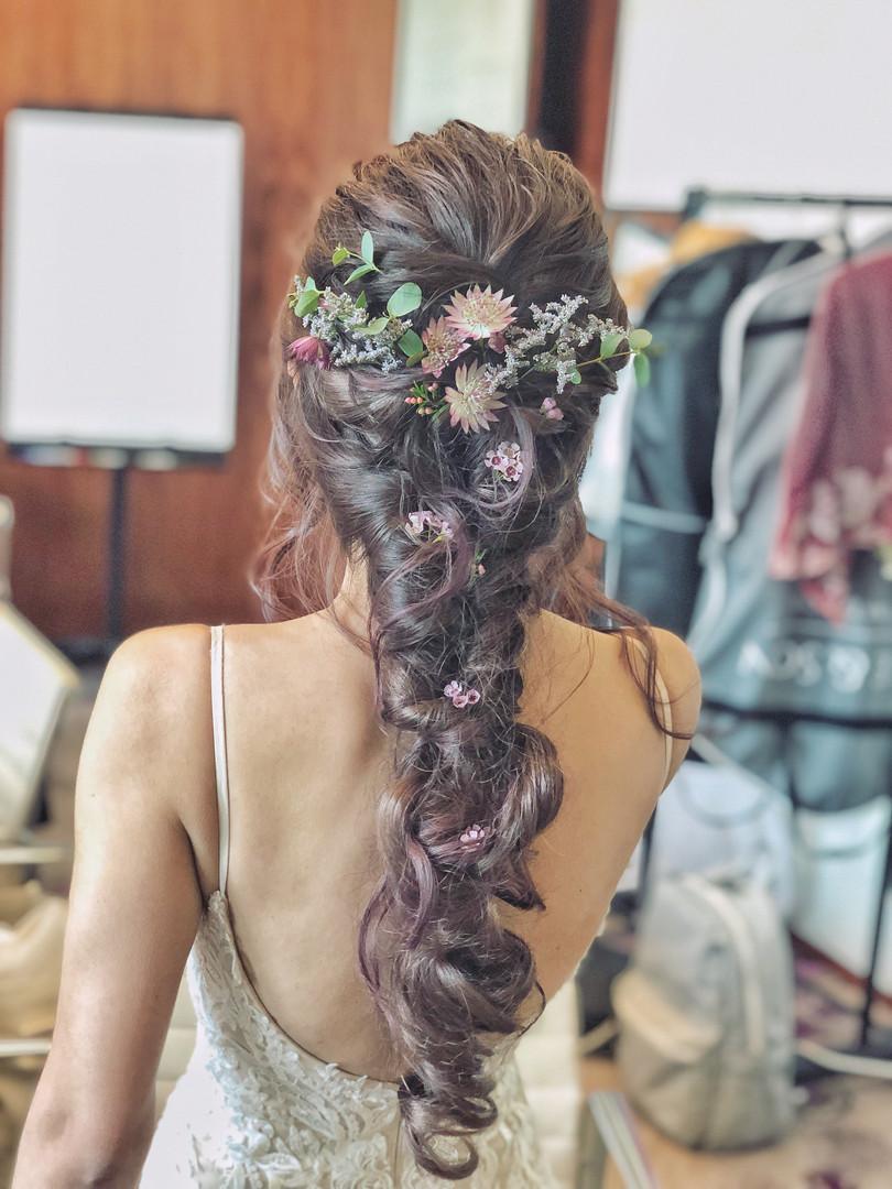 Vanessa's first hair