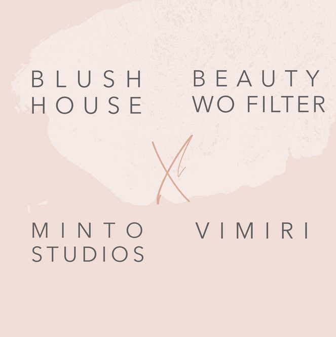 A collaboration with Blush house