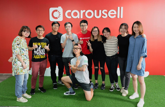 Corporate Interview with Carousell