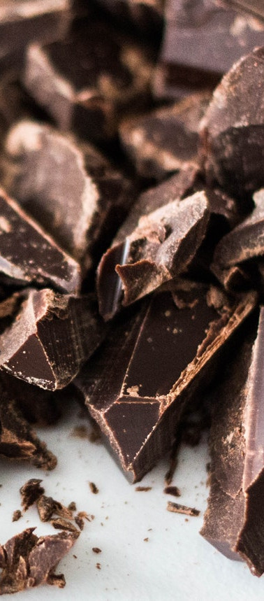 Morceau de chocolats