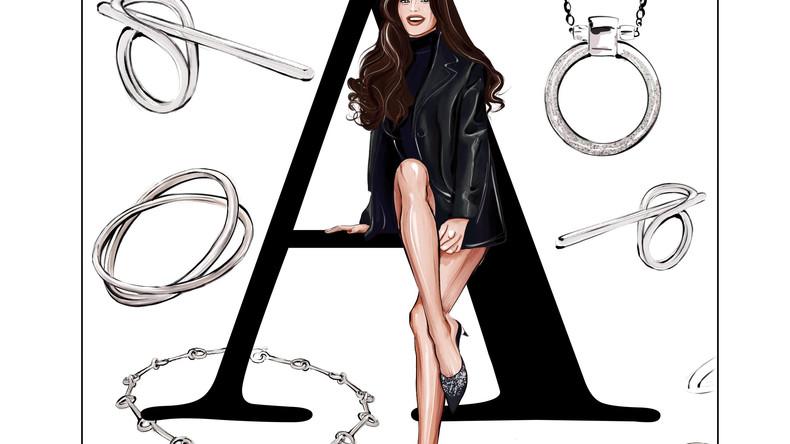 Fashion Alphabet: Анна Андрес
