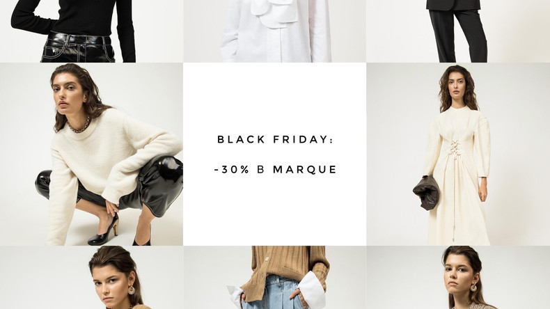 Black Friday: -30% в MARQUE