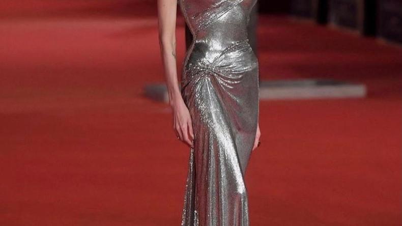 Анджелина Джоли на премьере фильма «Вечные» в Риме
