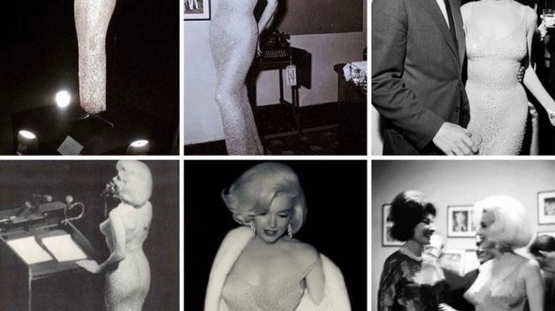 Легендарное «голое платье» Мэрилин Монро было куплено на аукционе за 4,8 миллионов долларов