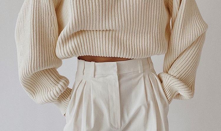 Тренд: свитер на молнии