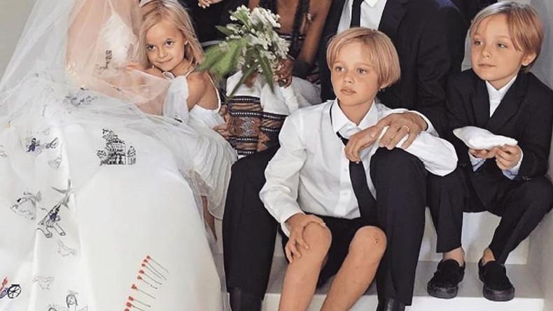 Свадебные фотографии Анджелины Джоли и Брэда Питта, 2014 год