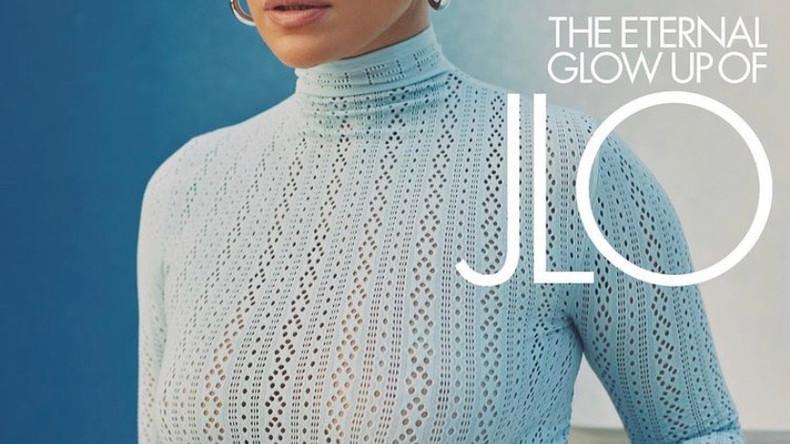 Дженнифер Лопес на обложках ELLE USA
