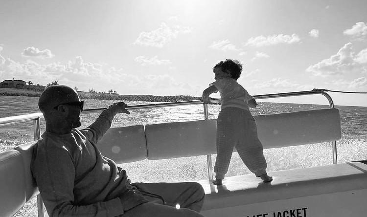 Джейсон Стэтхэм с сыном
